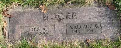 MOORE, WALLACE BRUCE - Marion County, Oregon | WALLACE BRUCE MOORE - Oregon Gravestone Photos