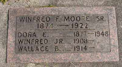 MOORE, WINFRED F - Marion County, Oregon | WINFRED F MOORE - Oregon Gravestone Photos