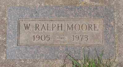 MOORE, W RALPH - Marion County, Oregon   W RALPH MOORE - Oregon Gravestone Photos