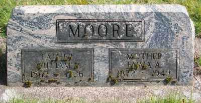 MOORE, EMMA ALICE - Marion County, Oregon | EMMA ALICE MOORE - Oregon Gravestone Photos