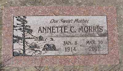 MORRIS, ANNETTE C - Marion County, Oregon | ANNETTE C MORRIS - Oregon Gravestone Photos