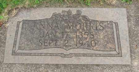 MORRIS, ANNA - Marion County, Oregon | ANNA MORRIS - Oregon Gravestone Photos