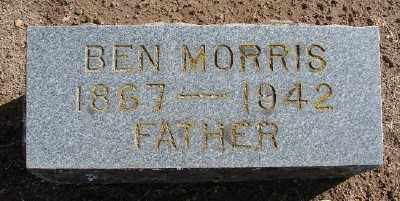 MORRIS, BEN - Marion County, Oregon   BEN MORRIS - Oregon Gravestone Photos