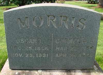MORRIS, CORNELIA ADELINE - Marion County, Oregon   CORNELIA ADELINE MORRIS - Oregon Gravestone Photos