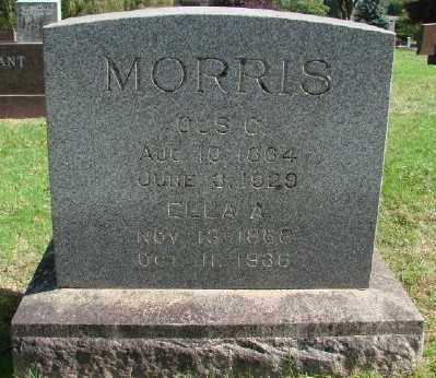 MORRIS, ELLA A - Marion County, Oregon | ELLA A MORRIS - Oregon Gravestone Photos