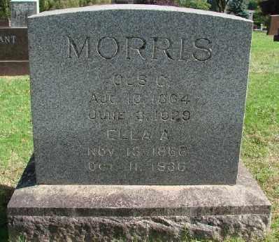 MORRIS, GUS CHARLES - Marion County, Oregon | GUS CHARLES MORRIS - Oregon Gravestone Photos