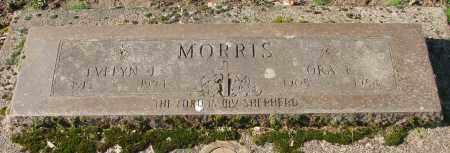 MORRIS, ORA F - Marion County, Oregon | ORA F MORRIS - Oregon Gravestone Photos