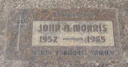 MORRIS, JOHN A - Marion County, Oregon | JOHN A MORRIS - Oregon Gravestone Photos