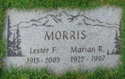 MORRIS, LESTER F - Marion County, Oregon | LESTER F MORRIS - Oregon Gravestone Photos