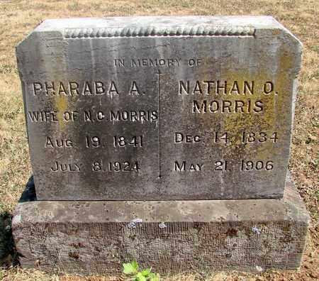 MORRIS, NATHAN O - Marion County, Oregon | NATHAN O MORRIS - Oregon Gravestone Photos