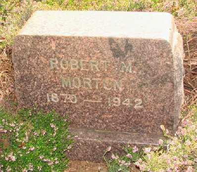 MORTON, ROBERT M - Marion County, Oregon | ROBERT M MORTON - Oregon Gravestone Photos