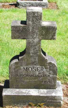 MOSER, CHARLES - Marion County, Oregon | CHARLES MOSER - Oregon Gravestone Photos