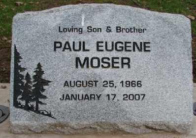 MOSER, PAUL EUGENE - Marion County, Oregon | PAUL EUGENE MOSER - Oregon Gravestone Photos