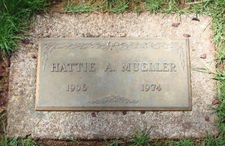 MUELLER, HATTIE A - Marion County, Oregon | HATTIE A MUELLER - Oregon Gravestone Photos