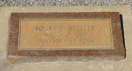 MUELLER, ROSINA F - Marion County, Oregon | ROSINA F MUELLER - Oregon Gravestone Photos