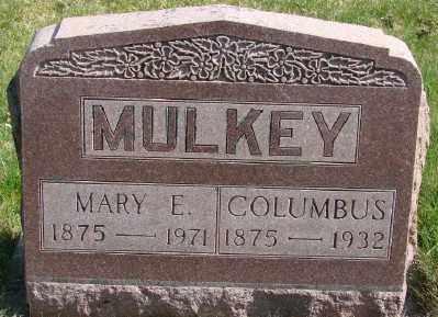 MULKEY, COLUMBUS A - Marion County, Oregon | COLUMBUS A MULKEY - Oregon Gravestone Photos