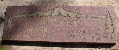 PARRISH MULKEY, GRACE ELENOR - Marion County, Oregon | GRACE ELENOR PARRISH MULKEY - Oregon Gravestone Photos