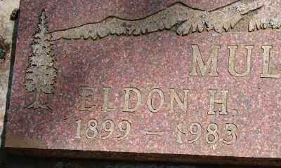 MULKEY, ELDEN HENRY - Marion County, Oregon   ELDEN HENRY MULKEY - Oregon Gravestone Photos