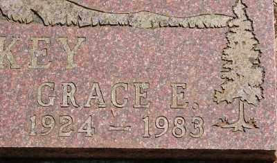 MULKEY, GRACE ELENOR - Marion County, Oregon | GRACE ELENOR MULKEY - Oregon Gravestone Photos