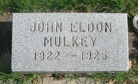MULKEY, JOHN ELDON - Marion County, Oregon   JOHN ELDON MULKEY - Oregon Gravestone Photos