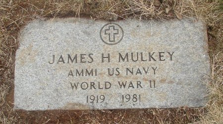 MULKEY, JAMES HUBERT - Marion County, Oregon | JAMES HUBERT MULKEY - Oregon Gravestone Photos