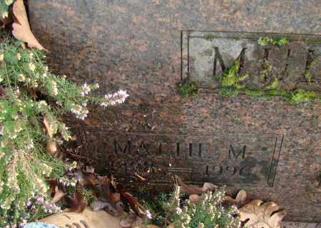 MULKEY, MATTIE M - Marion County, Oregon | MATTIE M MULKEY - Oregon Gravestone Photos