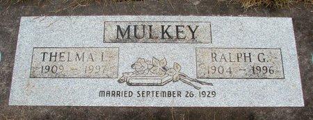 MULKEY, THELMA LORIENE - Marion County, Oregon | THELMA LORIENE MULKEY - Oregon Gravestone Photos