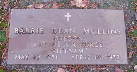 MULLINS (VN), BARRIE DEAN - Marion County, Oregon   BARRIE DEAN MULLINS (VN) - Oregon Gravestone Photos