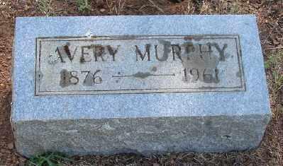MURPHY, AVERY DENTON - Marion County, Oregon   AVERY DENTON MURPHY - Oregon Gravestone Photos