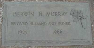 MURRAY, BERWIN F - Marion County, Oregon   BERWIN F MURRAY - Oregon Gravestone Photos