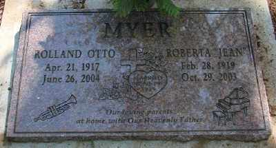 MYER, ROLLAND OTTO - Marion County, Oregon | ROLLAND OTTO MYER - Oregon Gravestone Photos