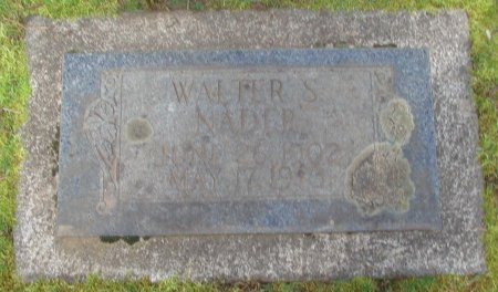 NADER, WALTER S - Marion County, Oregon | WALTER S NADER - Oregon Gravestone Photos