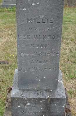 NEAL, MILLIE A - Marion County, Oregon | MILLIE A NEAL - Oregon Gravestone Photos