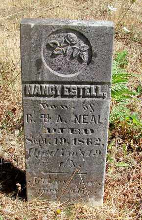 NEAL, NANCY ESTELL - Marion County, Oregon | NANCY ESTELL NEAL - Oregon Gravestone Photos