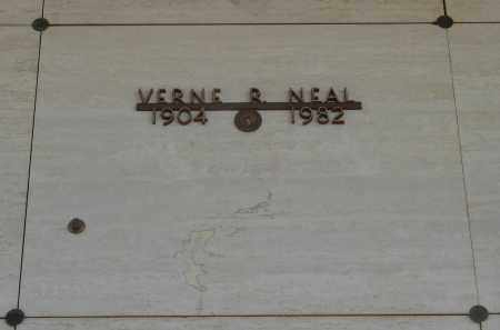 NEAL, VERNE ROY - Marion County, Oregon | VERNE ROY NEAL - Oregon Gravestone Photos