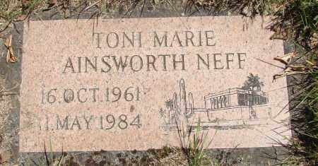 AINSWORTH NEFF, TONI MARIE - Marion County, Oregon | TONI MARIE AINSWORTH NEFF - Oregon Gravestone Photos