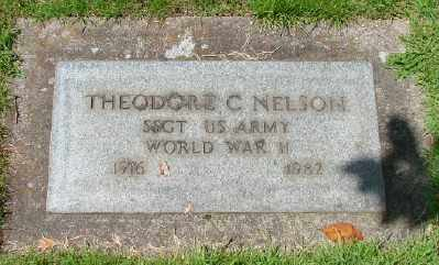 NELSON (WWII), THEODORE C - Marion County, Oregon | THEODORE C NELSON (WWII) - Oregon Gravestone Photos