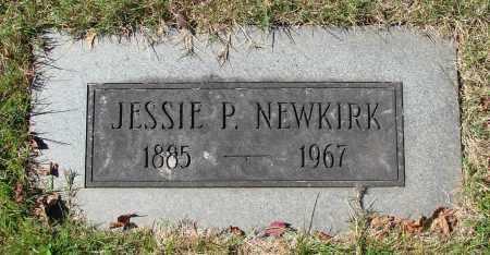 NEWKIRK, JESSIE P - Marion County, Oregon   JESSIE P NEWKIRK - Oregon Gravestone Photos