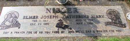 NIBLER, ELMER JOSEPH - Marion County, Oregon | ELMER JOSEPH NIBLER - Oregon Gravestone Photos