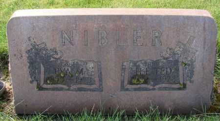 NIBLER, EVA M - Marion County, Oregon | EVA M NIBLER - Oregon Gravestone Photos