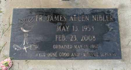 NIBLER, JAMES ALLEN - Marion County, Oregon | JAMES ALLEN NIBLER - Oregon Gravestone Photos
