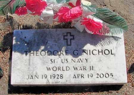 NICHOL (WWII), THEODORE G - Marion County, Oregon | THEODORE G NICHOL (WWII) - Oregon Gravestone Photos