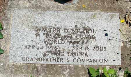 NICHOL (WWII), WALTER DON - Marion County, Oregon | WALTER DON NICHOL (WWII) - Oregon Gravestone Photos