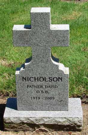 NICHOLSON, DAVID - Marion County, Oregon | DAVID NICHOLSON - Oregon Gravestone Photos