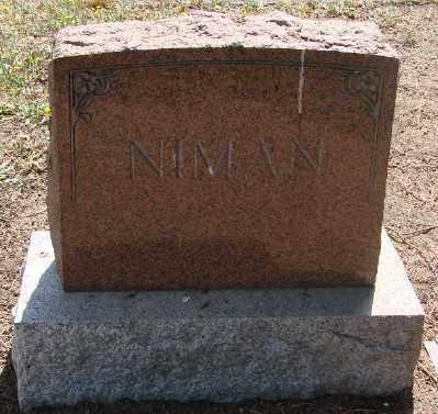 NIMAN, MONUMENT - Marion County, Oregon | MONUMENT NIMAN - Oregon Gravestone Photos
