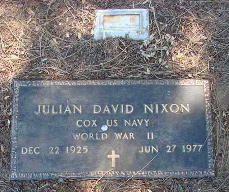 NIXON (WWII), JULIAN DAVID - Marion County, Oregon | JULIAN DAVID NIXON (WWII) - Oregon Gravestone Photos