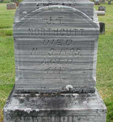 NORTHCUTT, J T - Marion County, Oregon | J T NORTHCUTT - Oregon Gravestone Photos