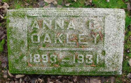 OAKLEY, ANNA - Marion County, Oregon | ANNA OAKLEY - Oregon Gravestone Photos