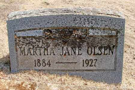 ROBERTSON, MARTHA JANE - Marion County, Oregon | MARTHA JANE ROBERTSON - Oregon Gravestone Photos