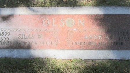 OLSON, SILAS M - Marion County, Oregon | SILAS M OLSON - Oregon Gravestone Photos